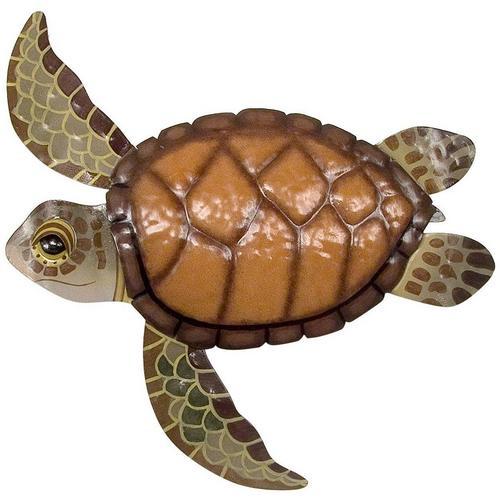 T.I. Design Sea Turtle Wall Decor