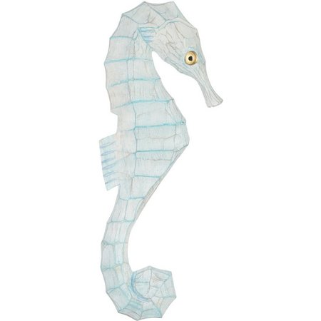 T.I. Design Wooden Seahorse Wall Figurine Right