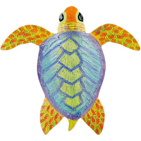 T.I. Design Metal Turtle Wall Art
