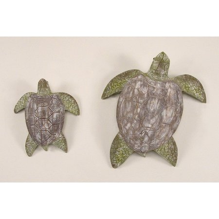 T.I. Design 2-pc. Sea Turtle Wall Art