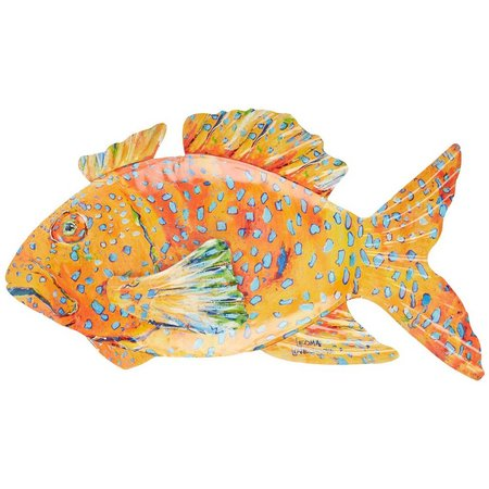 Leoma Lovegrove Coral Reef Fish Wall Art