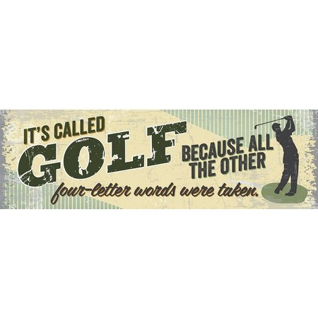 Artistic Reflections It's Called Golf Wood Art
