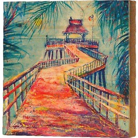 Leoma Lovegrove Naples Pier Wall Art