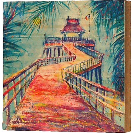 Leoma Lovegrove Naples Pier Wall Art