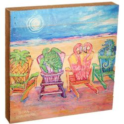 Leoma Lovegrove Front Row Seat Wood Art