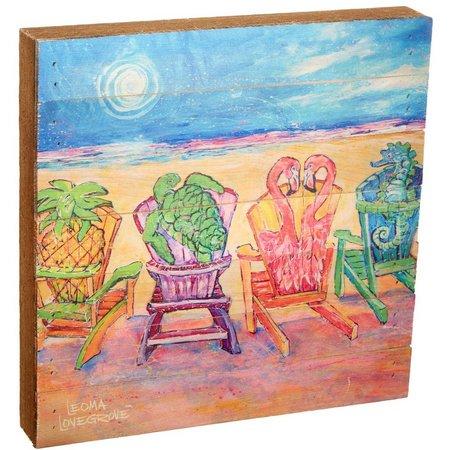 Leoma Lovegrove Front Row Seats Wood Art