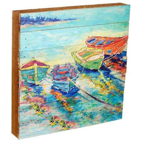 Leoma Lovegrove Friend-Ships Plank Art
