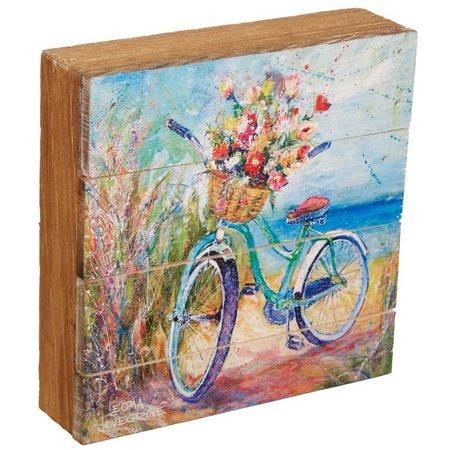 Leoma Lovegrove Beachin Ride Wood Art