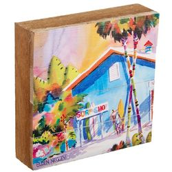 Ellen Negley Board Short Boogie Wood Art