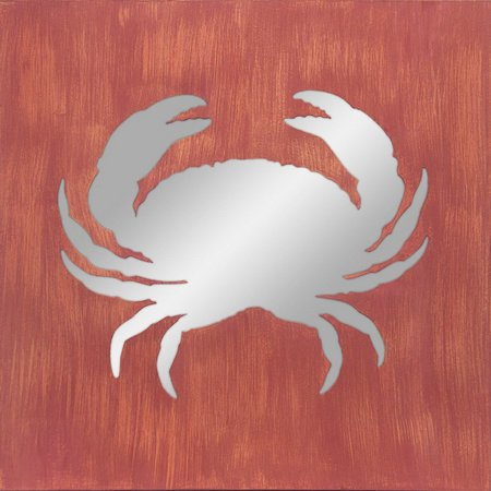 Patton Crab Mirror Plaque