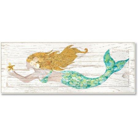 Palm Island Home Golden Hair Mermaid Box Art