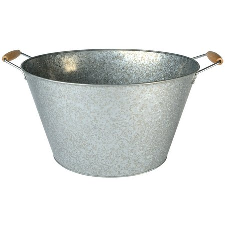 Artland Oasis Galvanized Steel Oval Party Tub