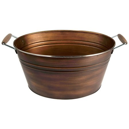 Artland Oasis Copper Finish Oval Party Tub