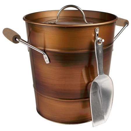 Artland Oasis Copper Finish Ice Bucket & Scoop