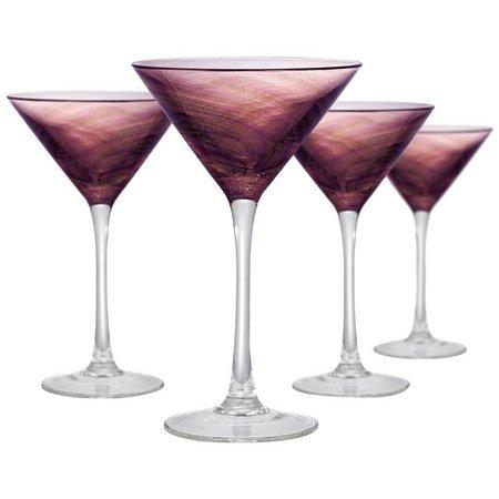 Artland 4-pc. Misty Martini Glass Set