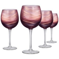 Artland 4-pc. Misty Goblet Glass Set