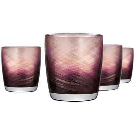 Artland 4-pc. Misty Double Old Fashioned Glass Set