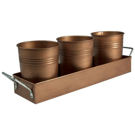 Artland Oasis Copper Finish Picnic Caddy