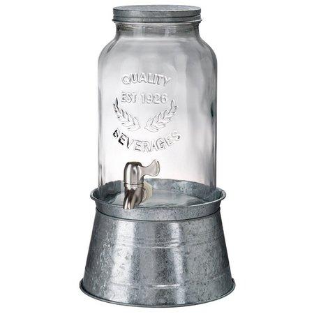 Artland Oasis 1.5 Gallon Beverage Jar With Holder