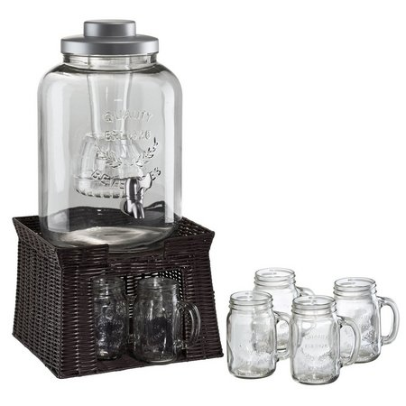 Artland Oasis 3 Gallon Beverage Jar With Chiller