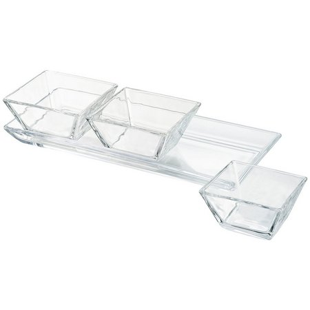 Artland Cortland 3-Section Serving Tray