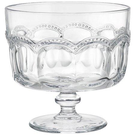 Artland Pearl Ridge 88-oz. Retro Trifle Bowl