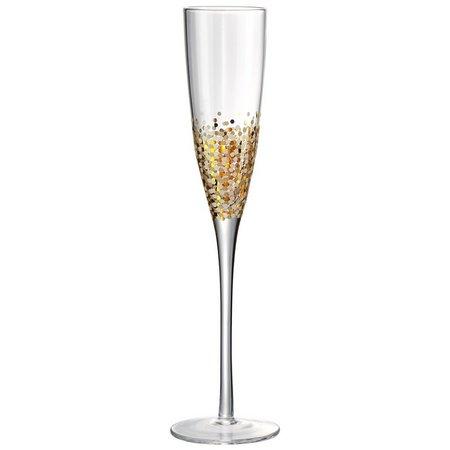 Artland Ambrosia 4-pc. Flute Glass Set