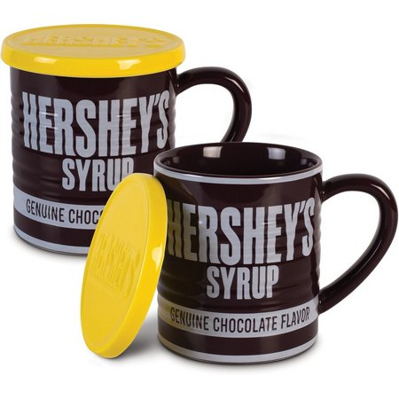 Hershey's 2-pc. 14 oz. Syrup Can Mug With