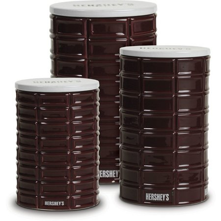Hershey's 3-pc. Pip Canister Set