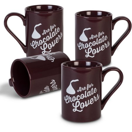Hershey's 4-pc. 10 oz. Chocolate Lovers Mug Set