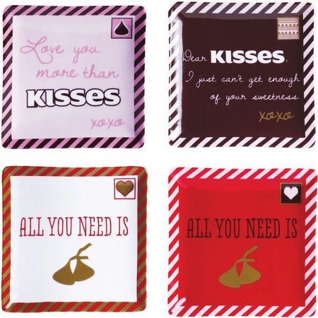 Hershey's Sweet Notes 4-pc. Square Dish Set