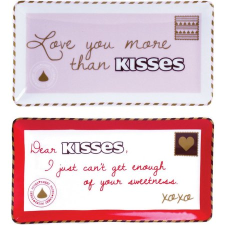 Hershey's Sweet Notes 2-pc. Rectangle Dish Set