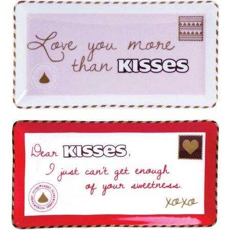 Hershey's Sweet Notes 2-pc. Rectangle Dish Set
