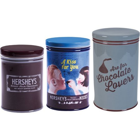 Hershey's 3-pc. Remember Your First Canister Set