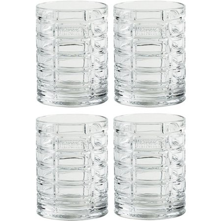 Hershey's Pip 4-pc. 10 oz. Short Tumbler Set