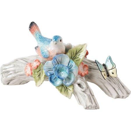 Fitz & Floyd Paisley Park Bird Candleholder