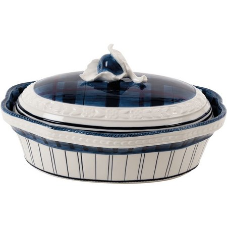 Fitz & Floyd Bristol Covered Serve Dish