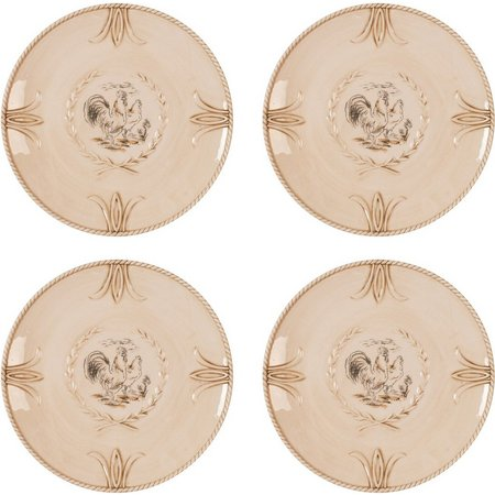 Fitz & Floyd Carrington 4-pc. Salad Plate Set