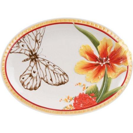 Fitz & Floyd Flower Market Platter