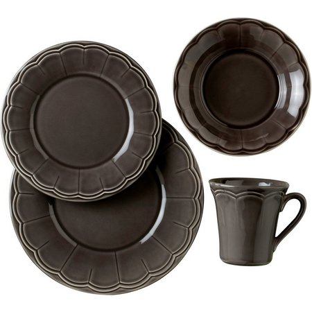Euro Ceramica Naperon 16-pc. Dinnerware Set