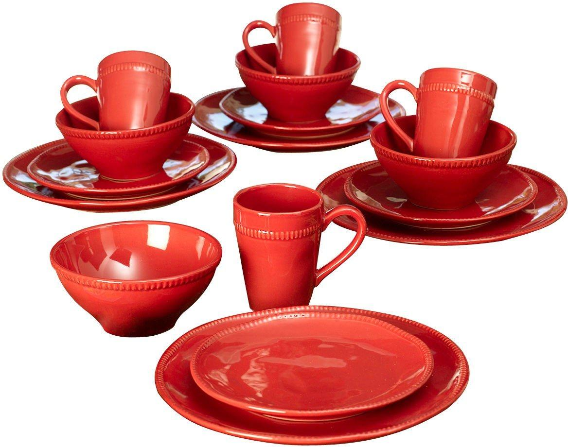 Dinnerware Set  sc 1 st  Bealls Florida & Euro Ceramica Algarve 16-pc. Dinnerware Set | Bealls Florida