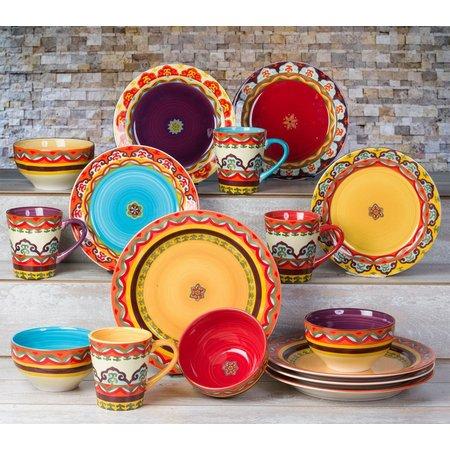 Euro Ceramica Galicia 16-pc. Dinnerware Set