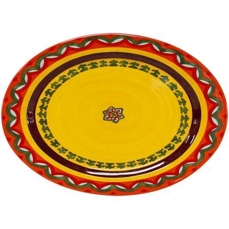 Euro Ceramica Galicia Oval Platter