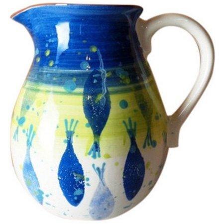 Euro Ceramica Pescador Pitcher