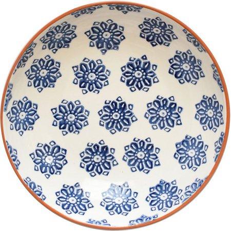 Euro Ceramica Azul Tile 11.25'' Salad Bowl