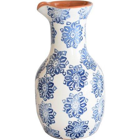 Euro Ceramica Azul Tile Pitcher/Carafe