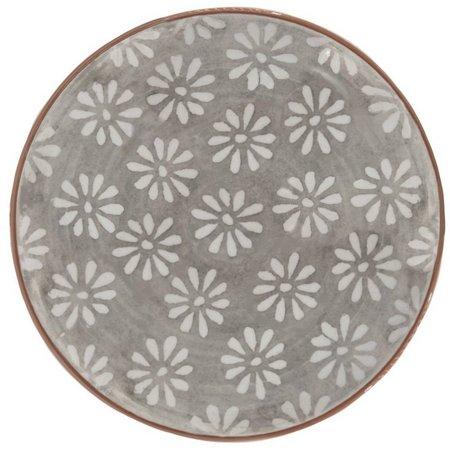 Euro Ceramica Margarida 4-pc. Dinner Plate Set