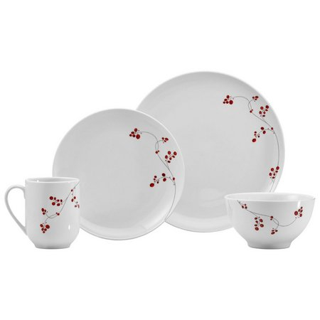 Mikasa Gourmet Basics Red Berries 16-pc. Set