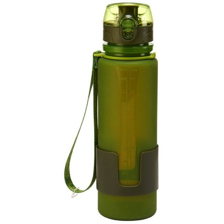 Desgin For Living 22 oz. Silicone Water Bottle