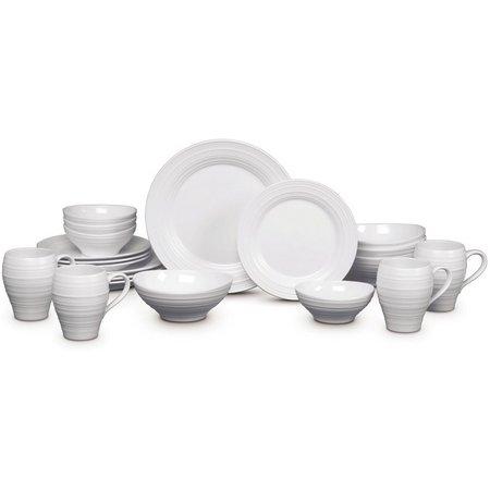 Mikasa Swirl 20-pc. Dinnerware Set